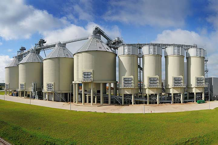 storing solutions for biofuel and biomass by FMW